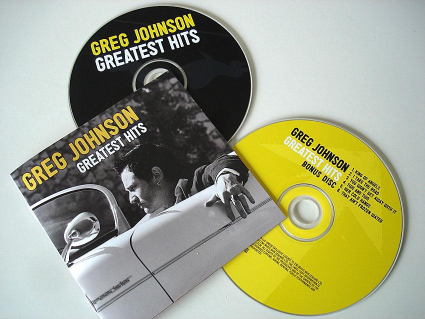 GREG JOHNSON - GREATEST HITS - ALBUM