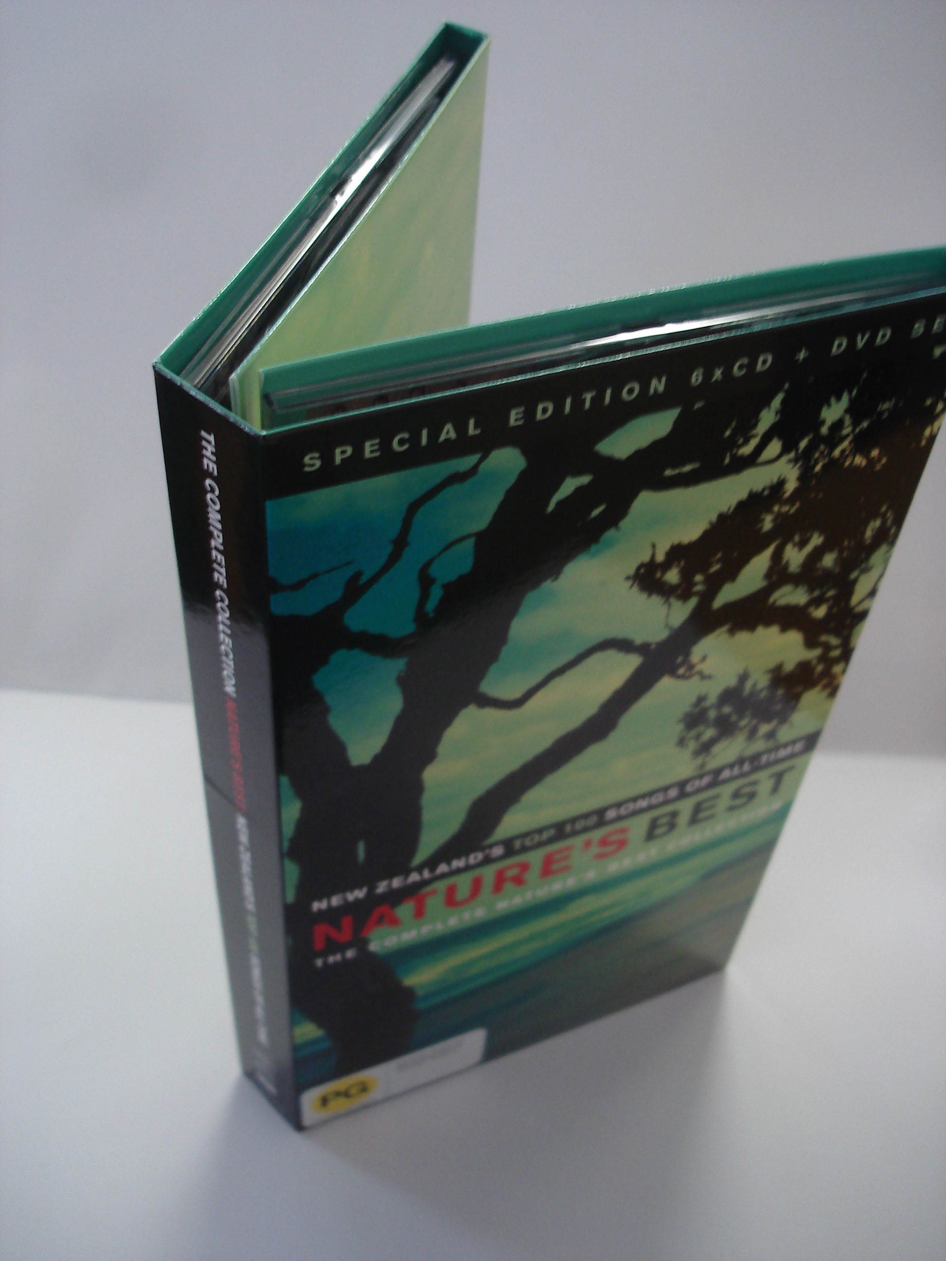 VARIOUS ARTISTS - NATURE'S BEST SPECIAL EDITION - BOX SET