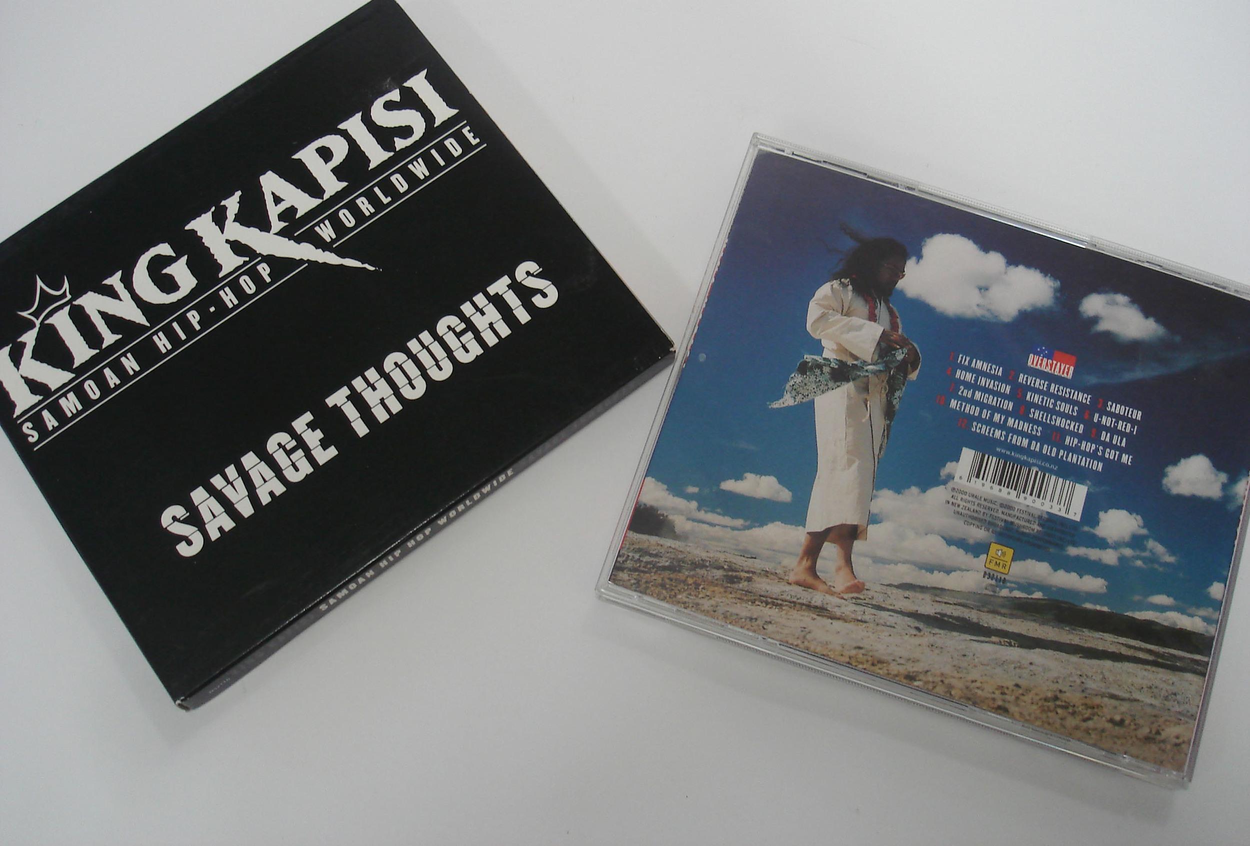 KING KAPISI - SAVAGE THOUGHTS - ALBUM