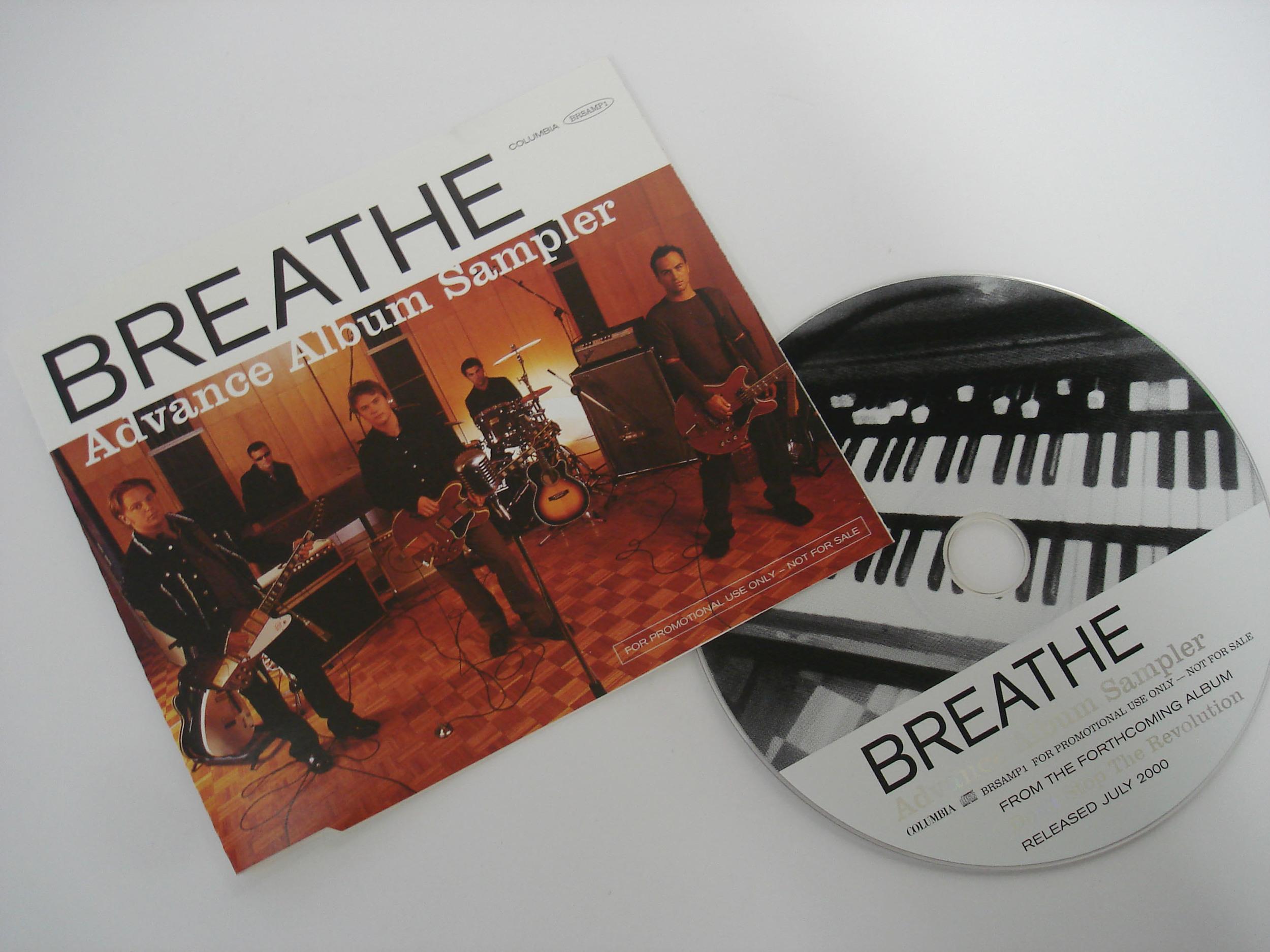 BREATHE - ADVANCE ALBUM SAMPLER