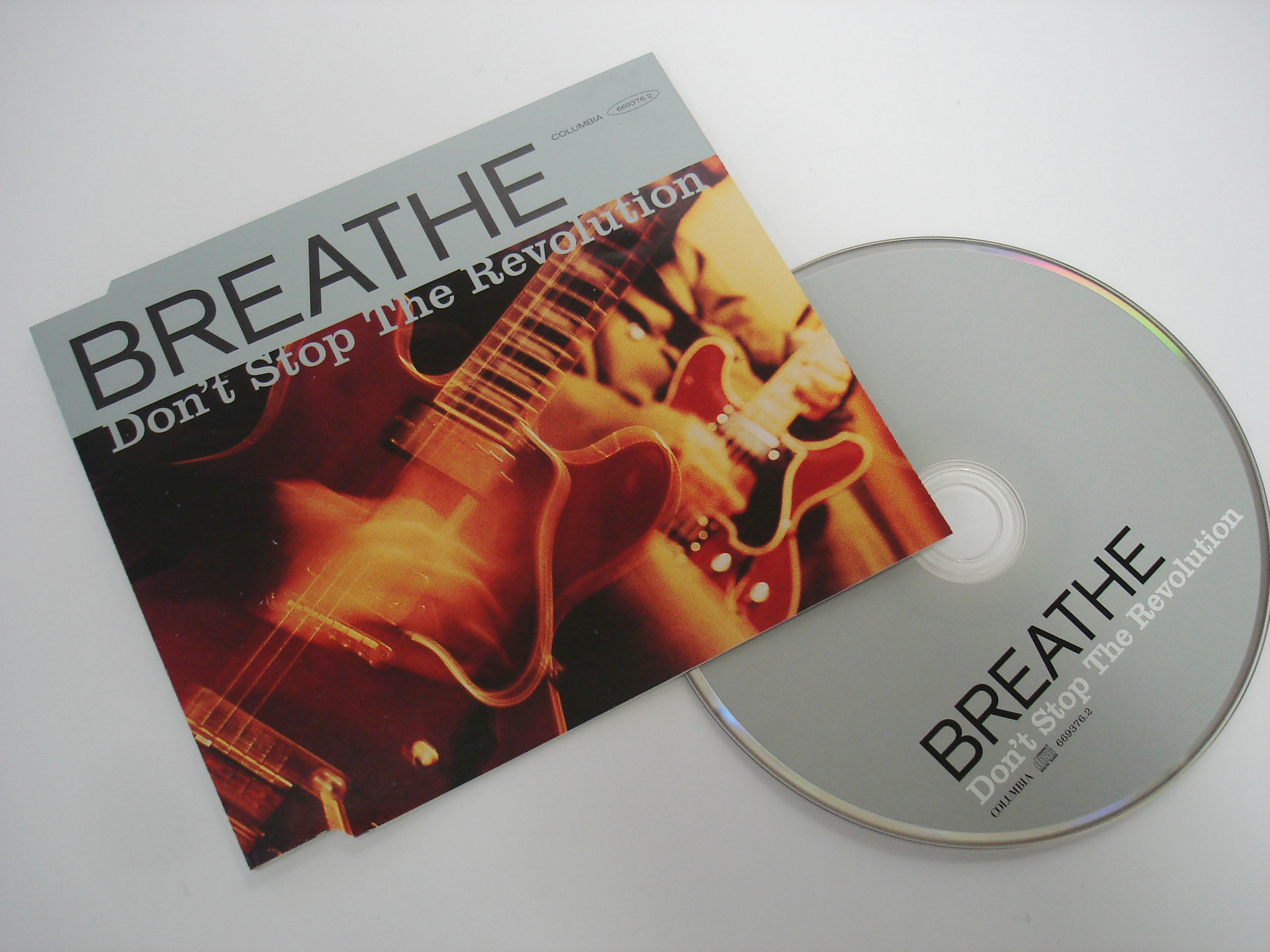 BREATHE - DON'T STOP THE REVOLUTION - SINGLE