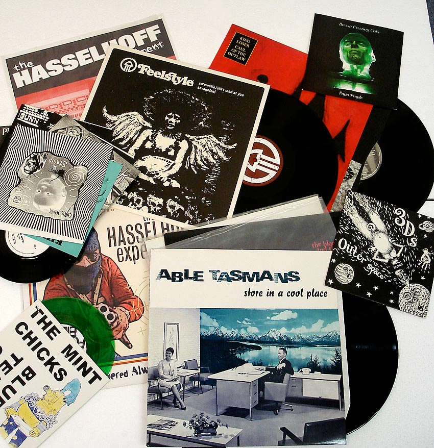 A Selection of Vinyl Work