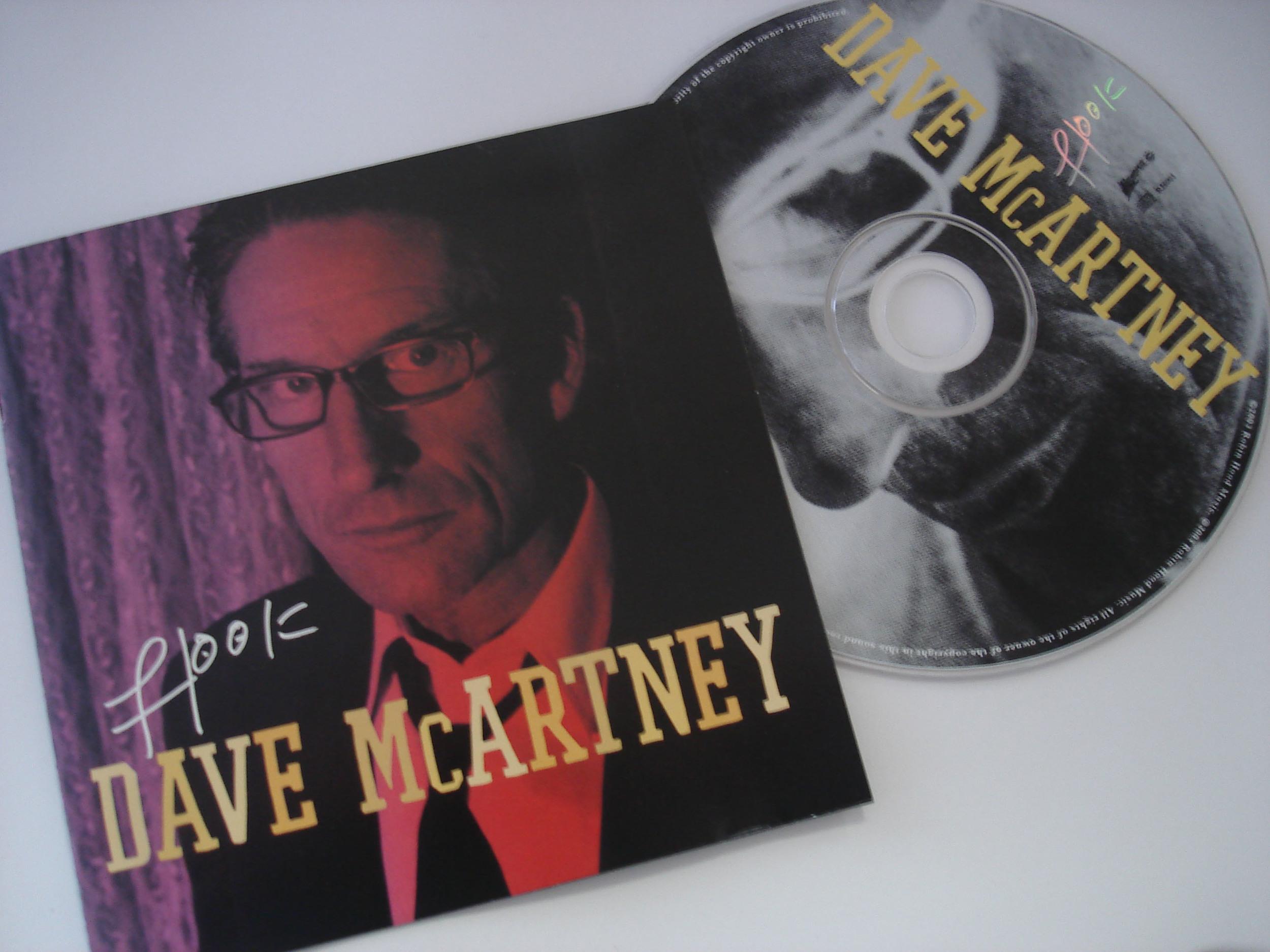 DAVE MCARTNEY - HOOK - ALBUM