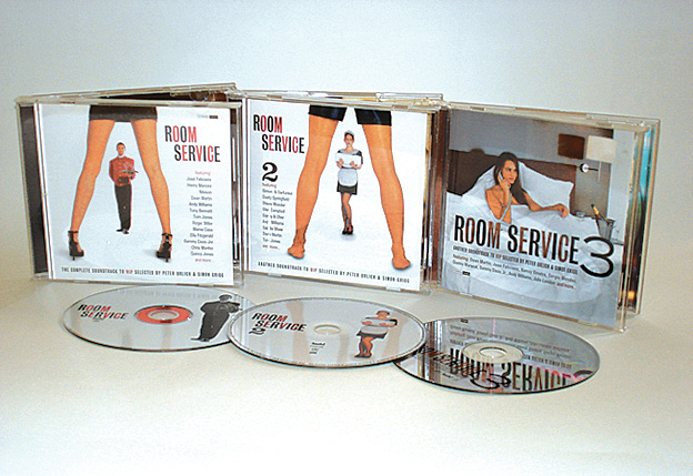 VARIOUS ARTISTS - ROOM SERVICE Vols I, II & III - COMPILATION