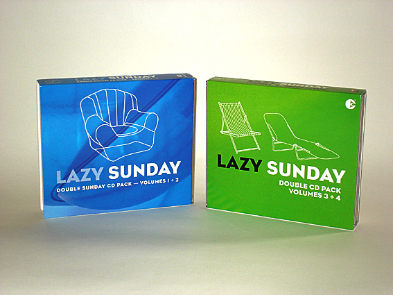 VARIOUS ARTISTS - LAZY SUNDAY - SPECIAL EDITION SLIPCASES