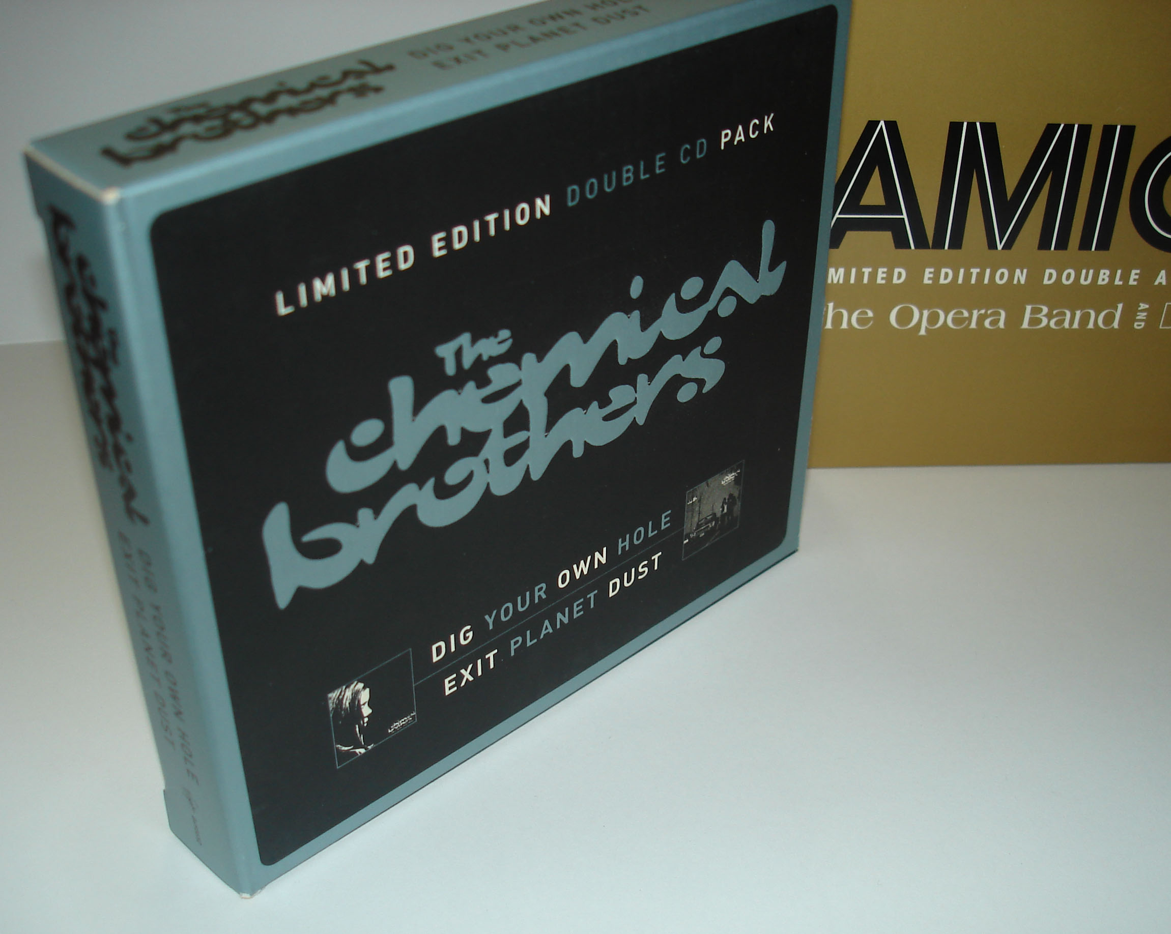 THE CHEMICAL BROTHERS - DOUBLE CD PACK - SLIPCASE
