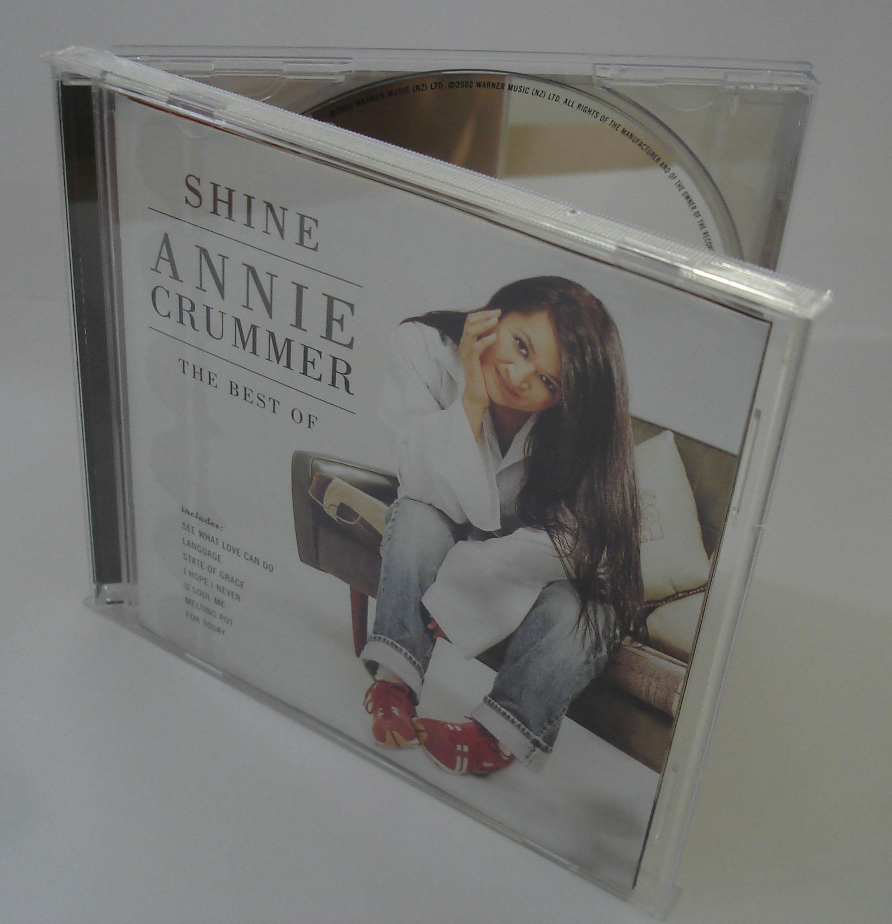ANNIE CRUMMER - SHINE - THE BEST OF - ALBUM