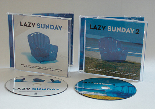 VARIOUS ARTISTS - LAZY SUNDAY Vols. 1 & 2 - COMPILATIONS