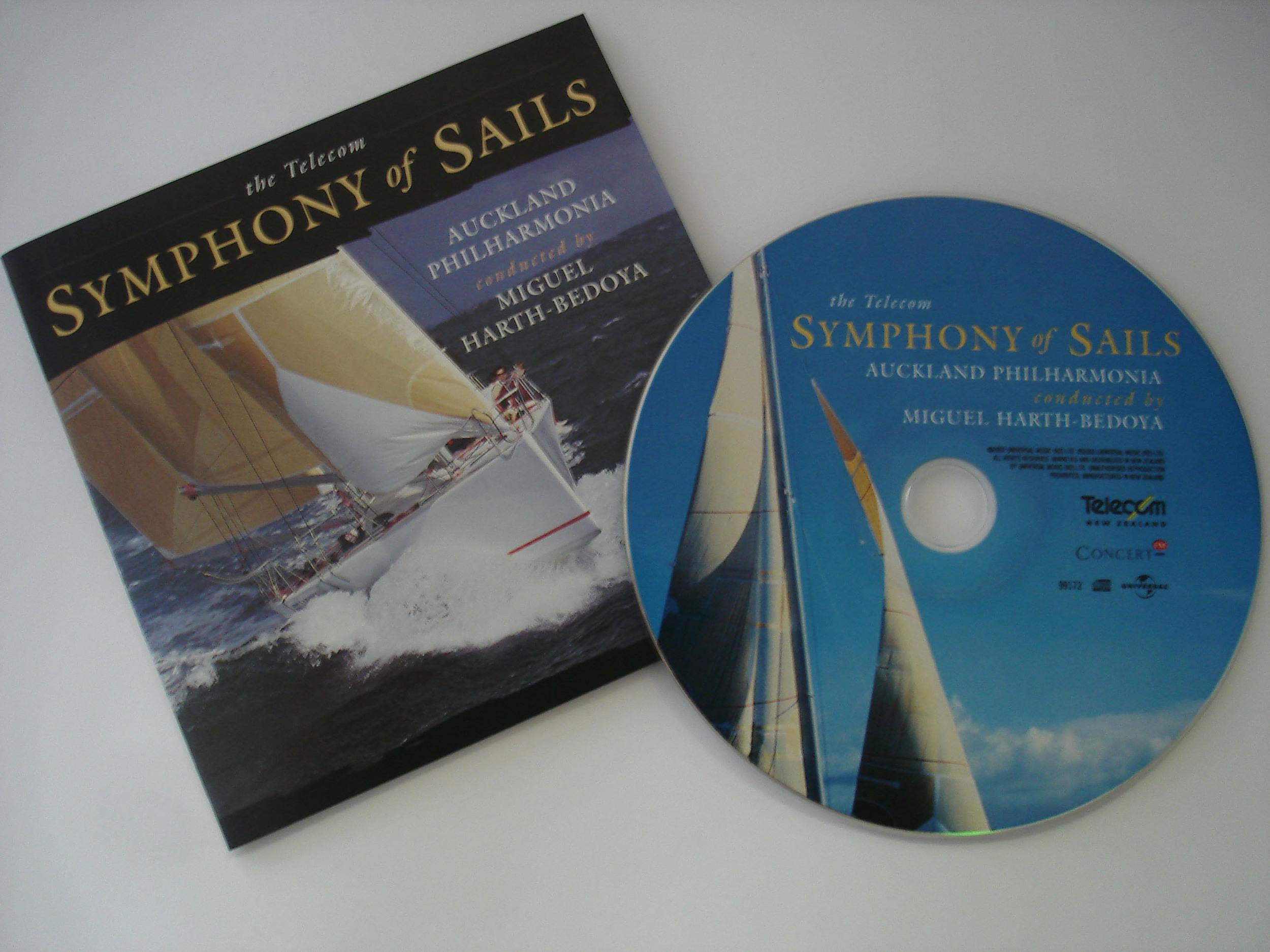 AUCKLAND PHILHARMONIA - SYMPHONY OF SAILS - ALBUM