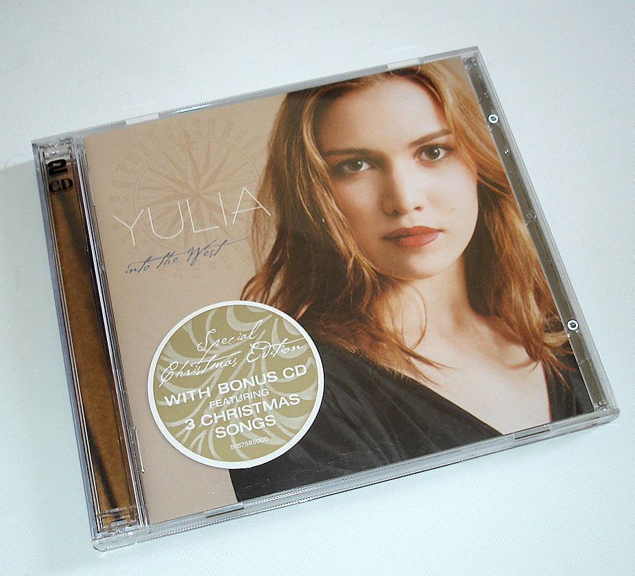 YULIA  - INTO THE WEST - ALBUM