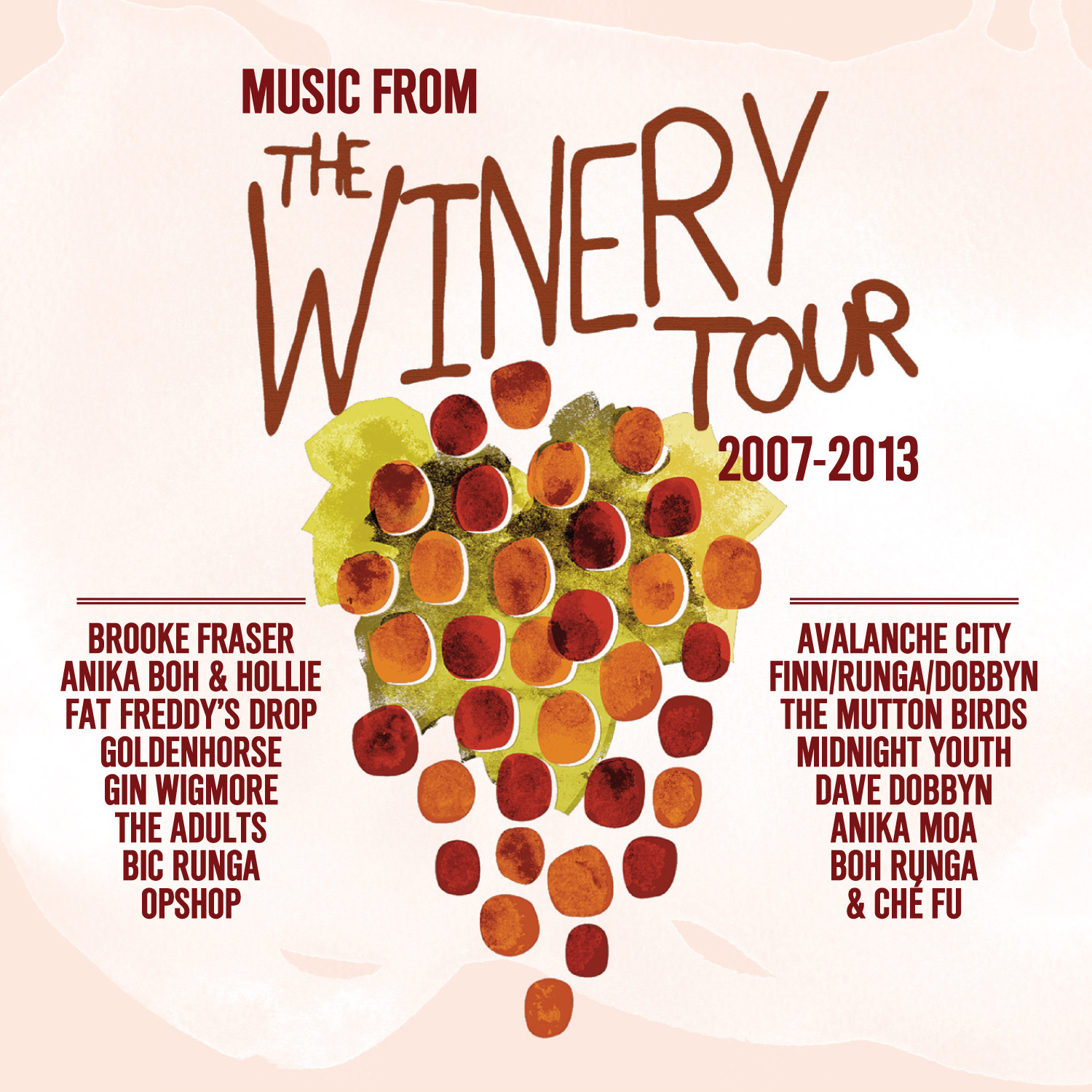"Various Artists ""Music From The Winery Tour 2007-2013"" (Compilation)"