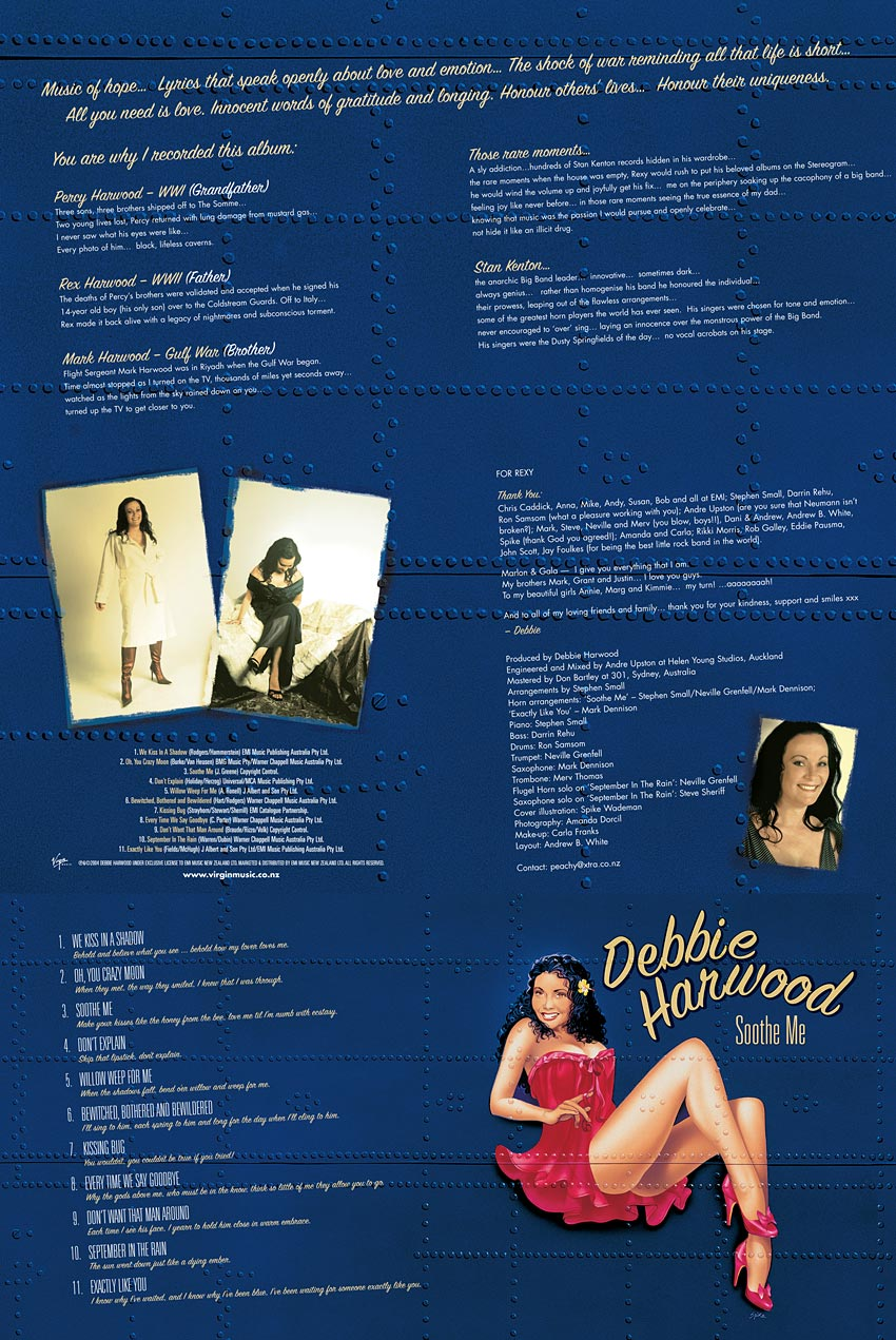 DEBBIE HARWOOD - SOOTHE ME - ALBUM