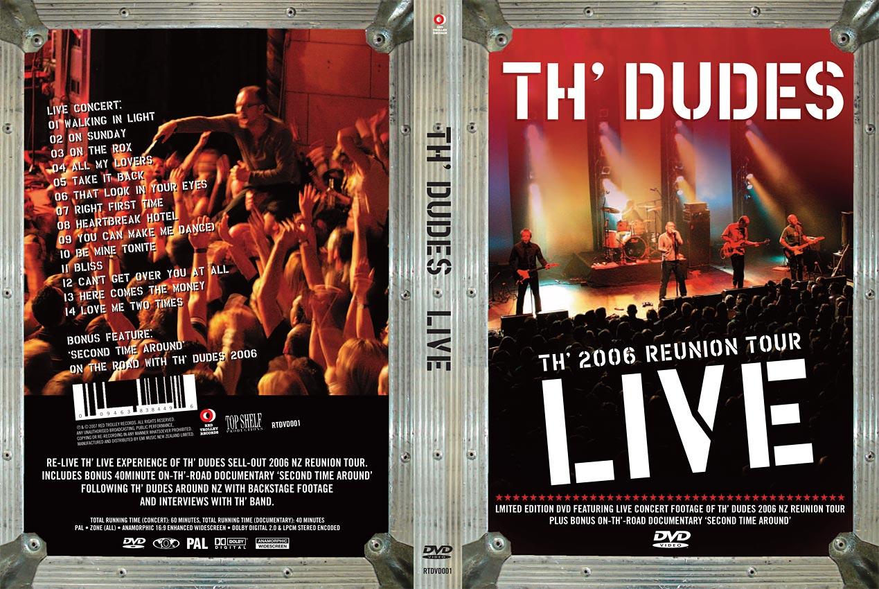 TH' DUDES LIVE - CONCERT FILM - DVD