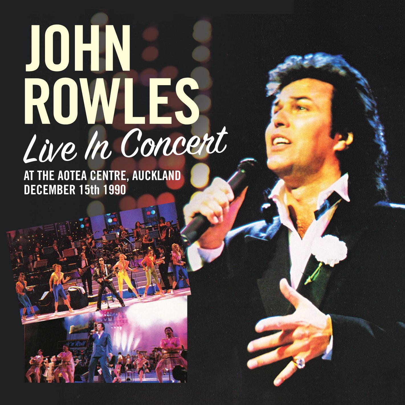 John Rowles - Live 1990 - Album