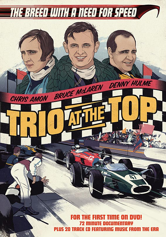 TRIO AT THE TOP - DOCUMENTARY -  DVD