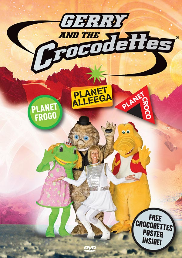 GERRY AND THE CROCODETTES - DVD - MUSICAL