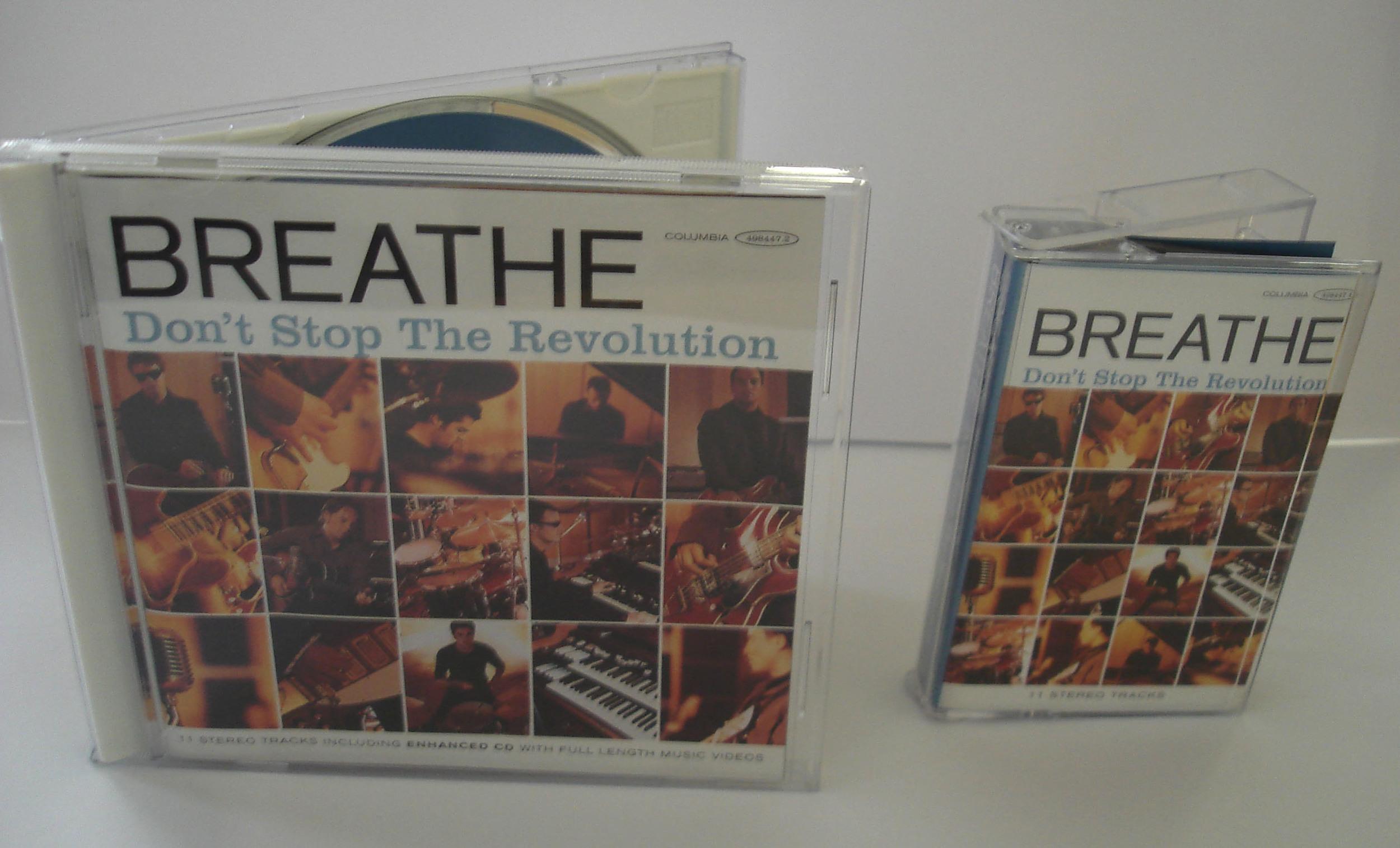 BREATHE - DON'T STOP THE REVOLUTION - ALBUM