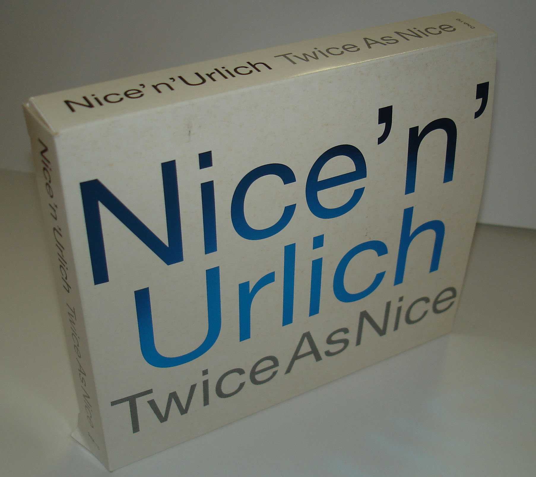 NICE N' URLICH - TWICE AS NICE - BOX SET