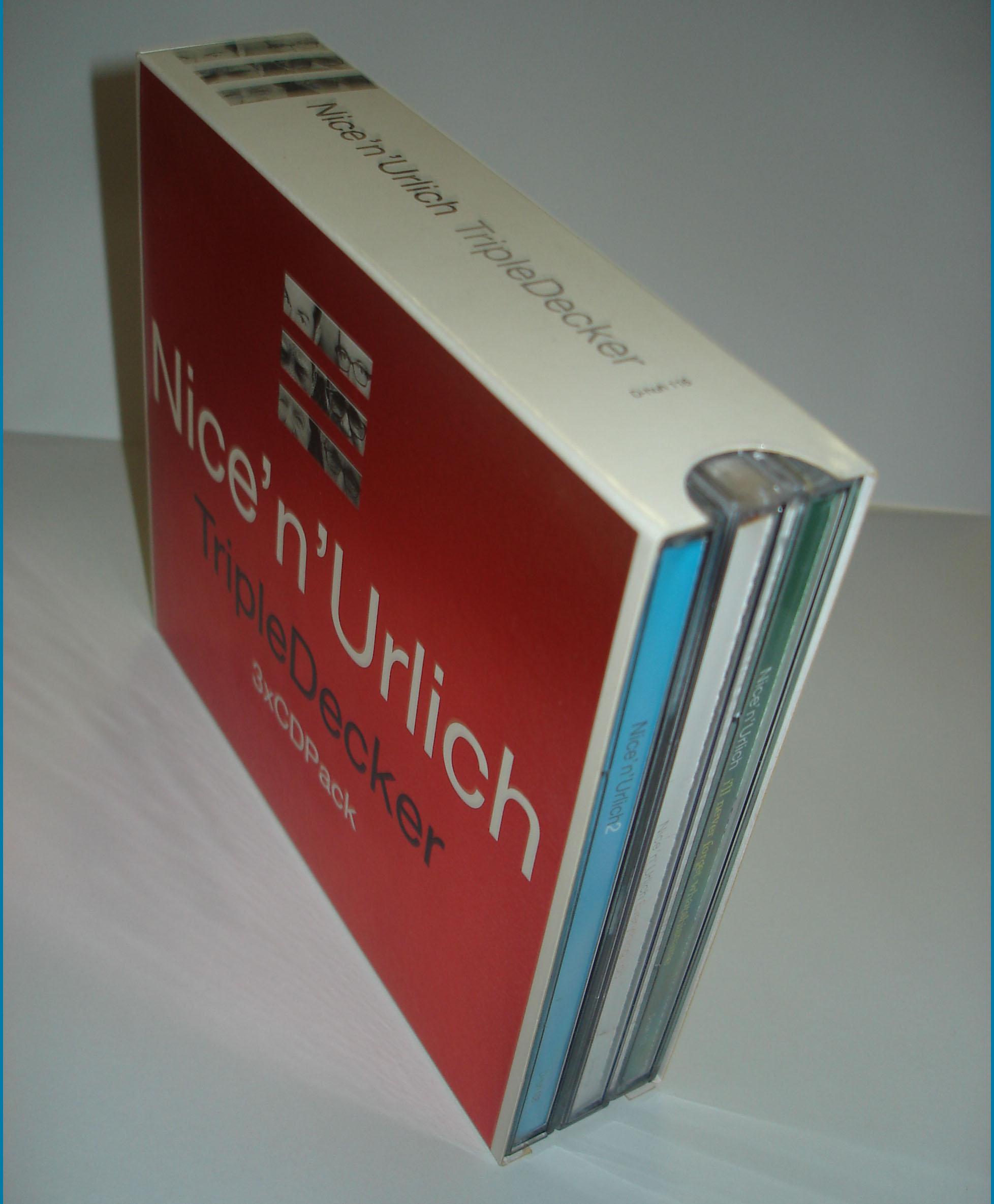 NICE N' URLICH - TRIPLE DECKER - BOX SET