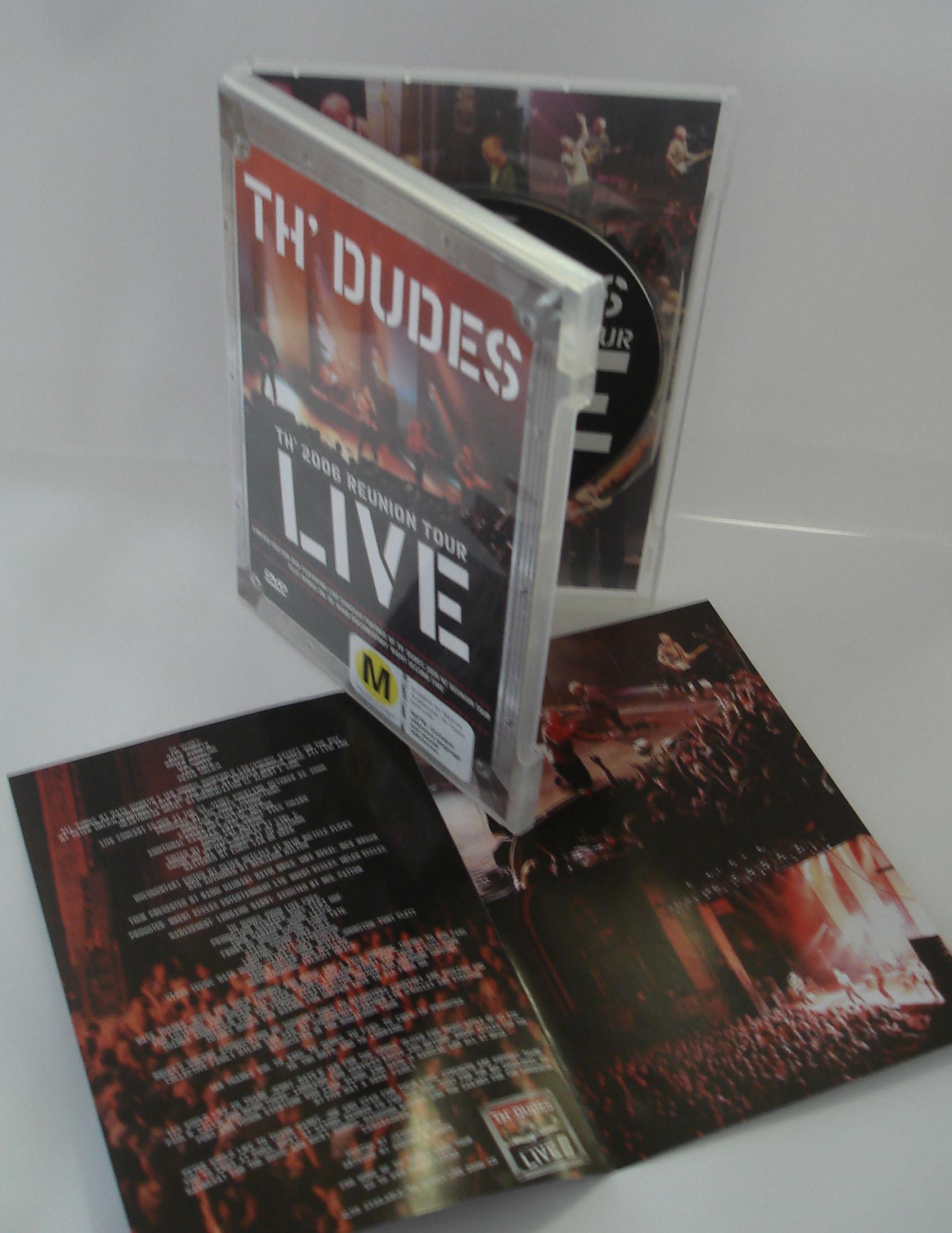 TH' DUDES - LIVE - CONCERT FILM - DVD