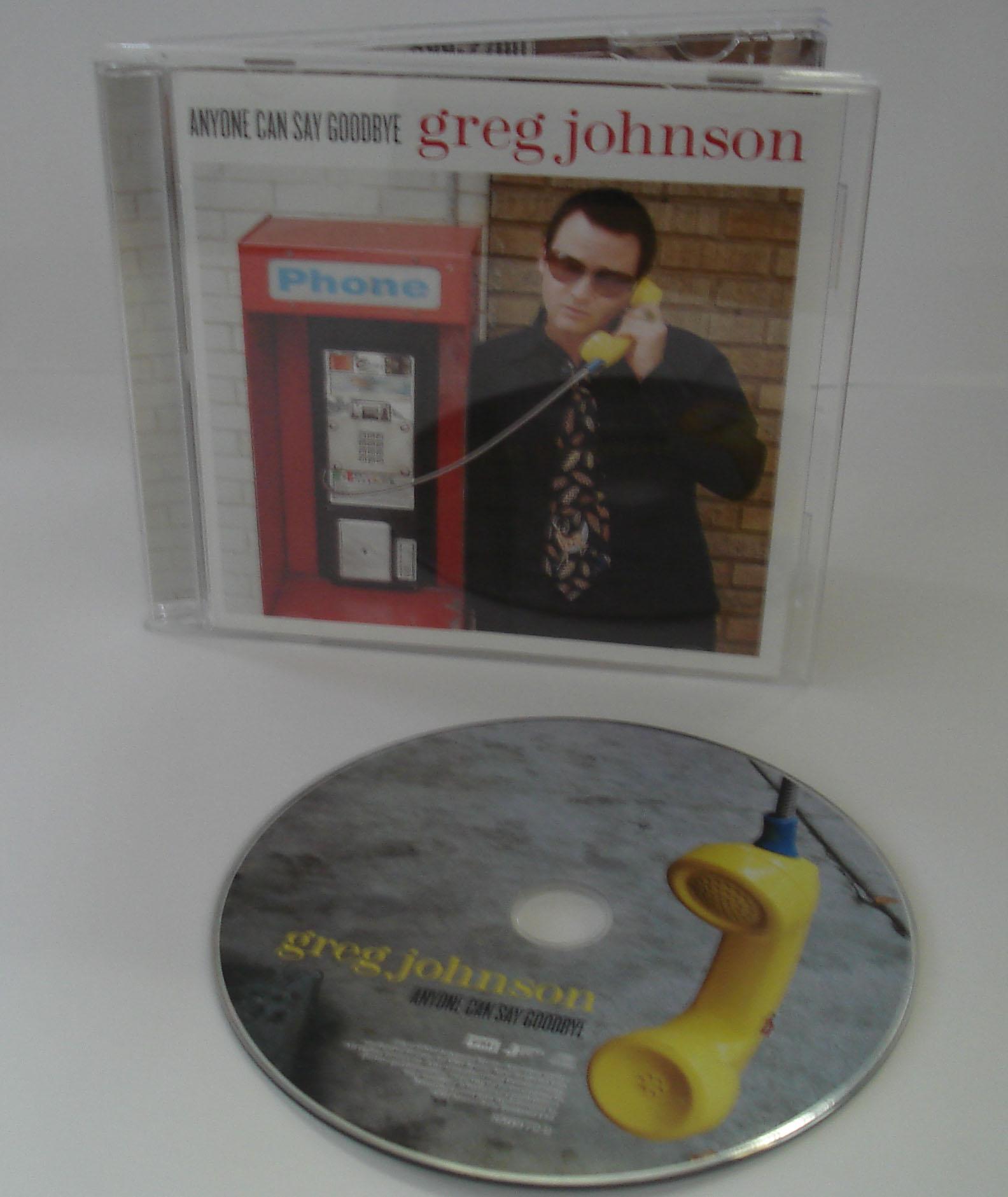 GREG JOHNSON - ANYONE CAN SAY GOODBYE - ALBUM