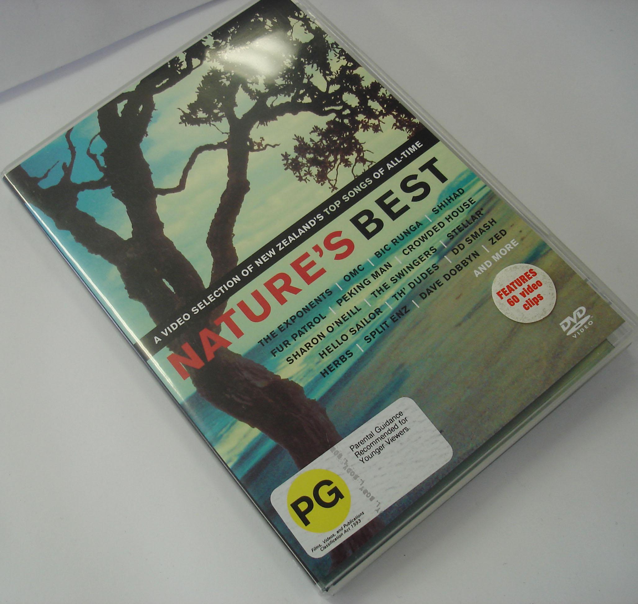 VARIOUS ARTISTS - NATURE'S BEST - DVD