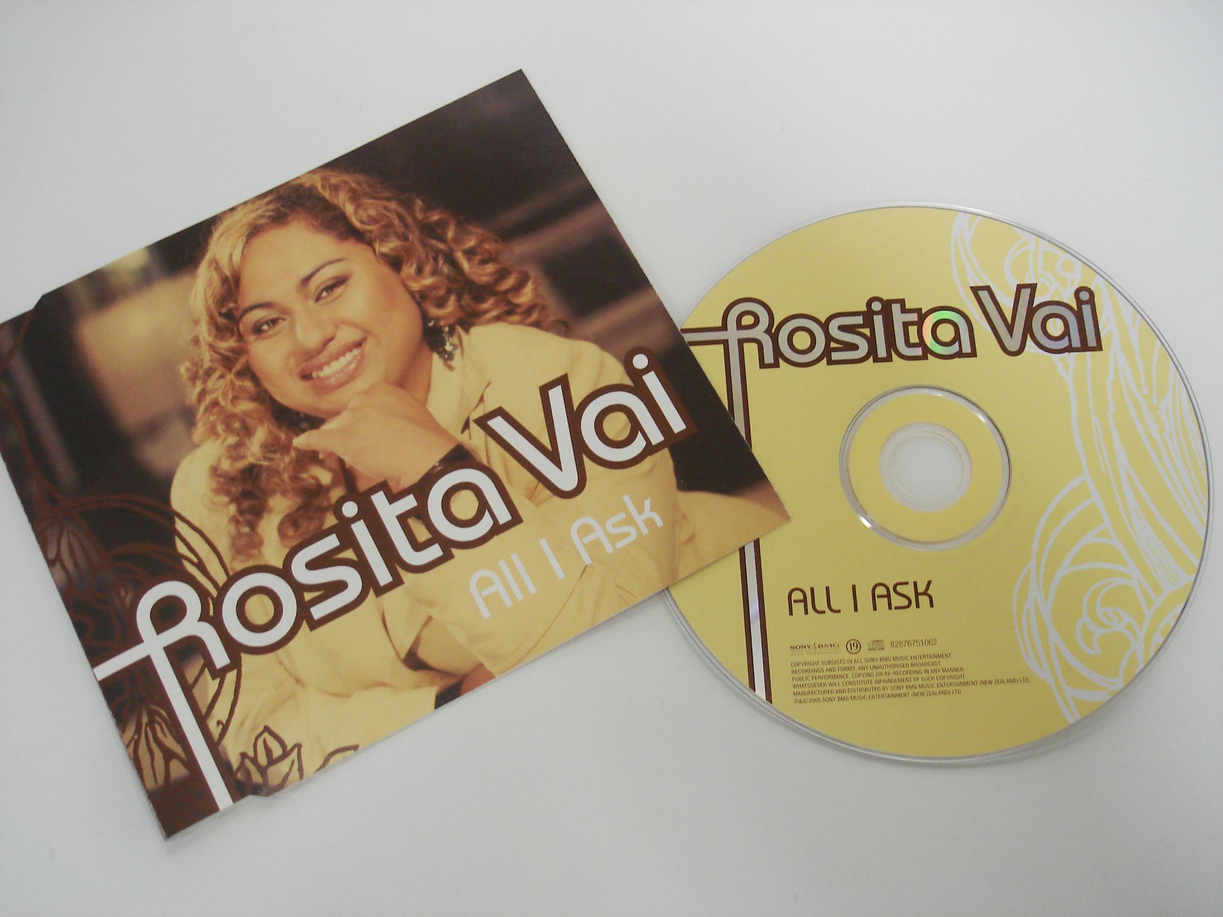ROSITA VAI - ALL I ASK