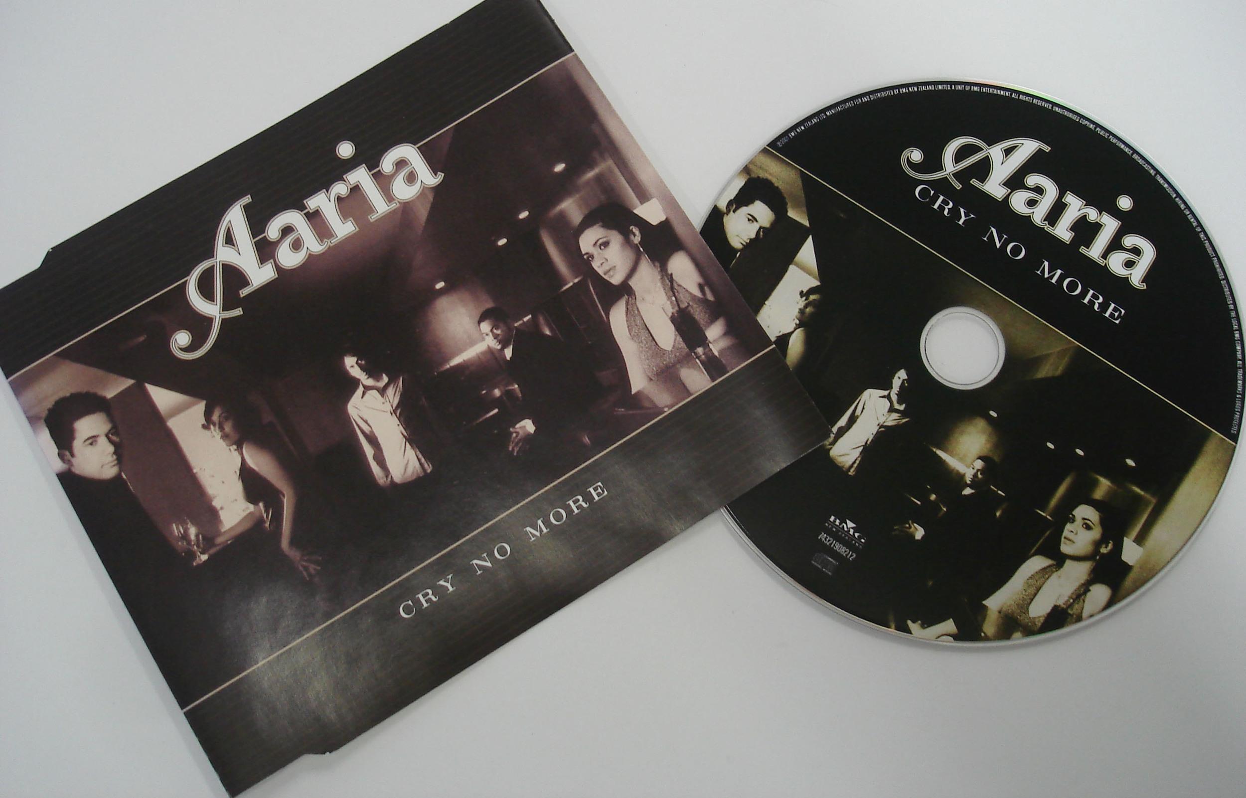 AARIA - CRY NO MORE - SINGLE