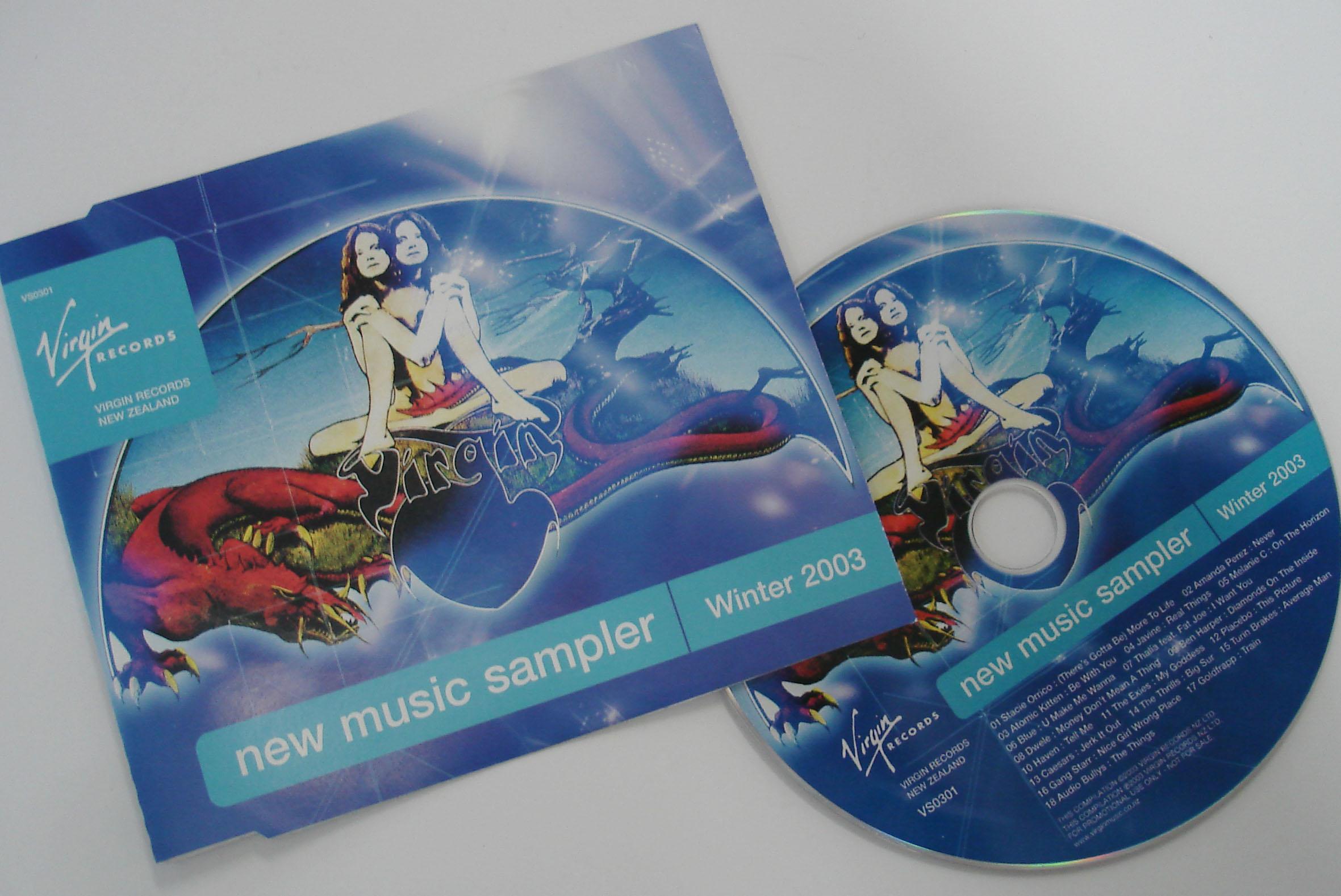VIRGIN RECORDS - NEW MUSIC SAMPLER