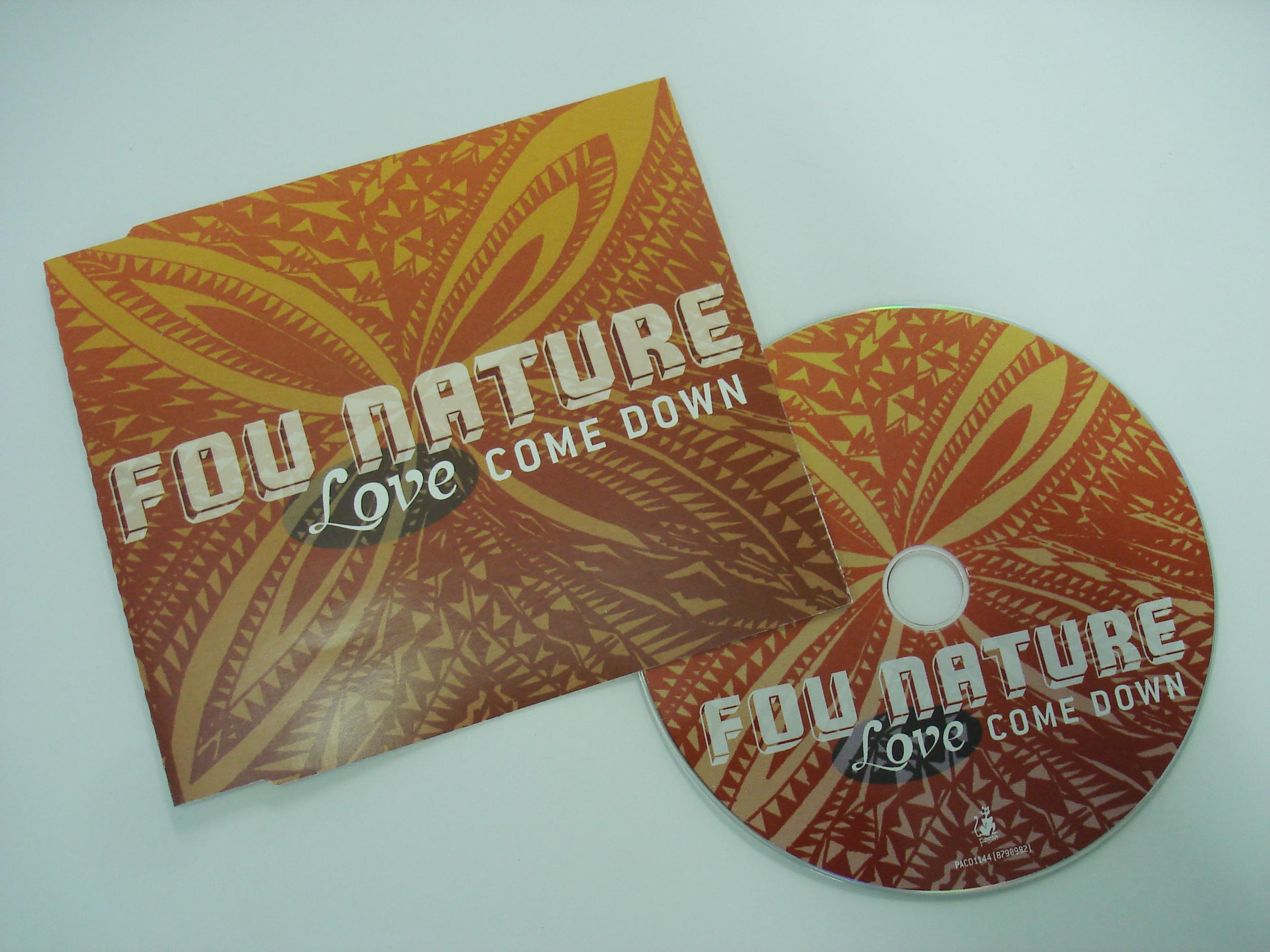 FOU NATURE - LOVE COME DOWN - SINGLE
