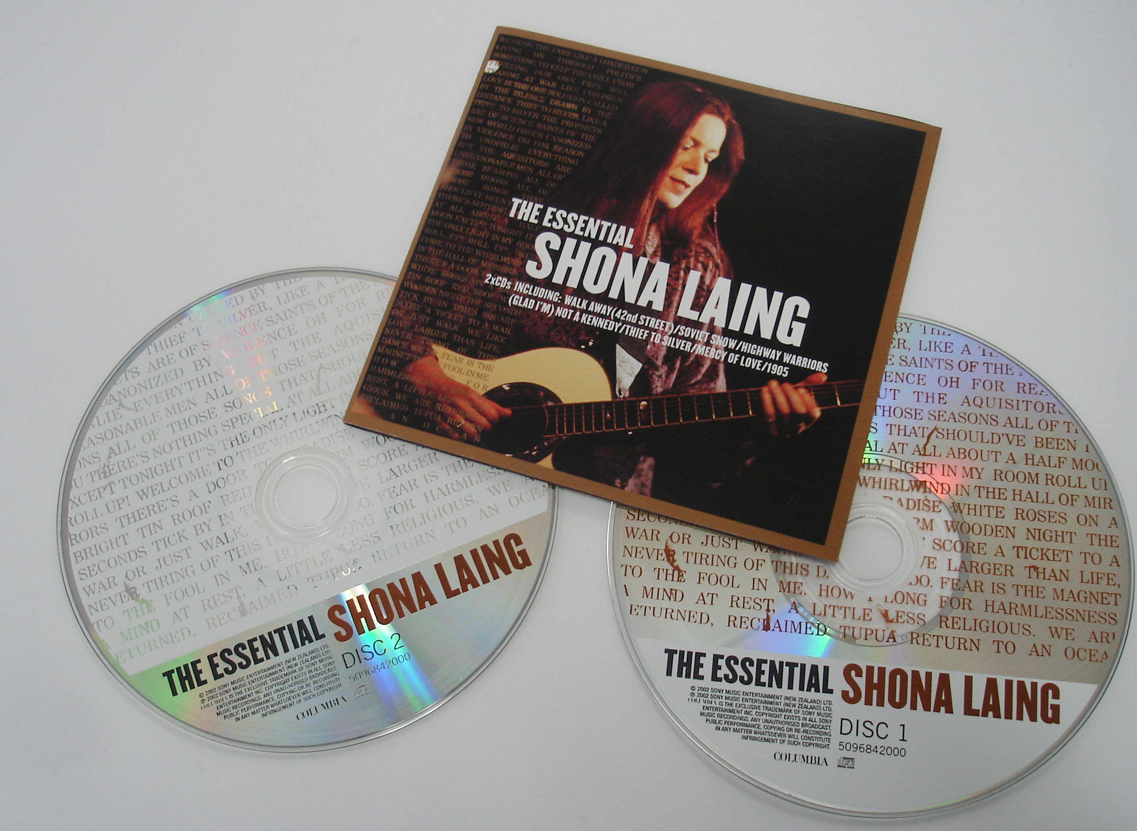 SHONA LAING - THE ESSENTIAL - COMPILATION