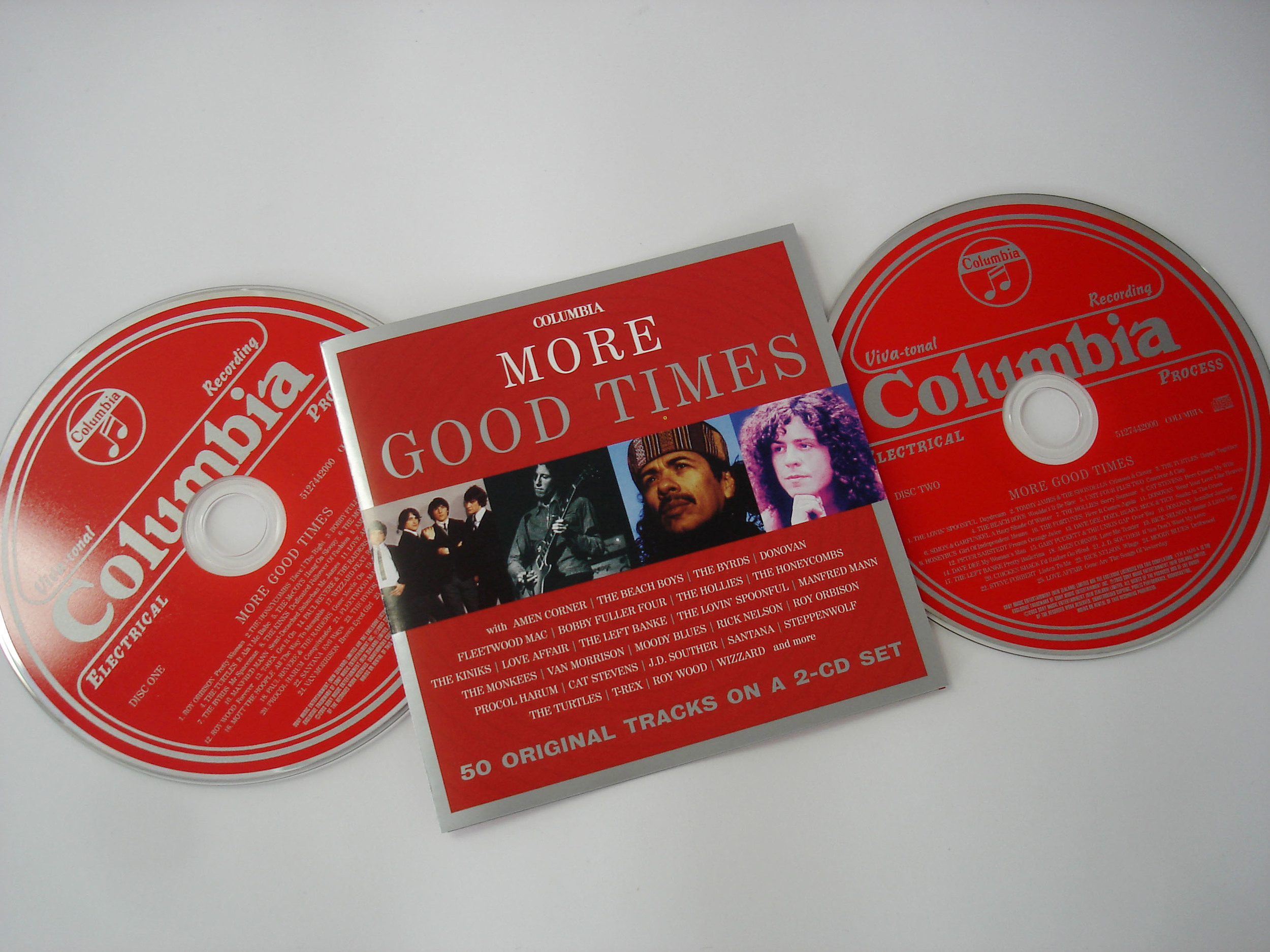 VARIOUS ARTISTS - MORE GOOD TIMES