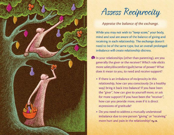Relationship Help: Reciprocity