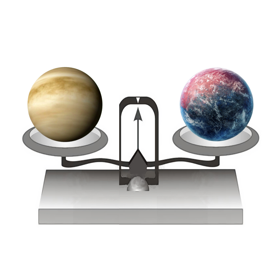 Mass - If we put Venus on a balance, it would have a mass of 4,867,320,000,000,000,000,000,000 kilograms.