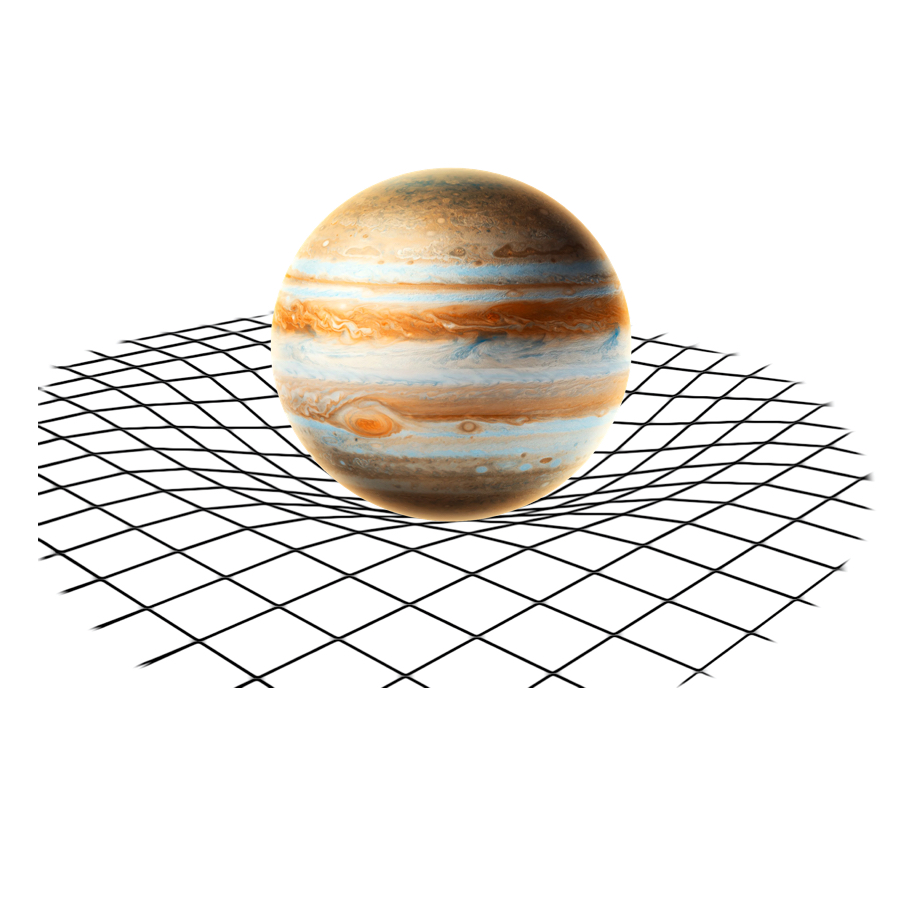 Gravity - Because of it's huge mass, Jupiter has a gravitational pull of 24.79meters / seconds squared.