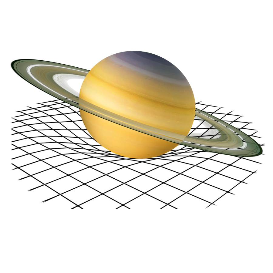 Gravity - Saturn has a gravitational pull of 10.4 meters / seconds squared, which is only slightly higher than Earth's.