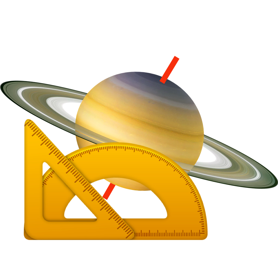 Tilt - Saturn, and its rings, are tilted at 26.7 degrees.
