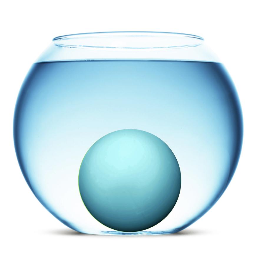 Density - Uranus has a total density of 1.27 grams per cubic centimeter - just a little more dense than liquid water.