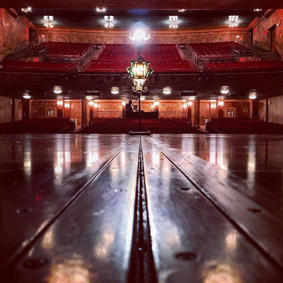 Our ghostlight at the Wilson after the final performance of Jersey Boys, 1/15/16. (Photo credit: Chris Messina)