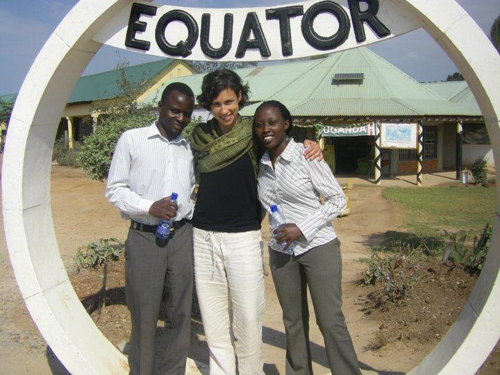2010 Wasajja + Mega join Sara at the Equator.
