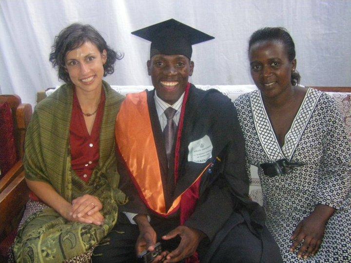 2010: Celebrating Vincent's graduation