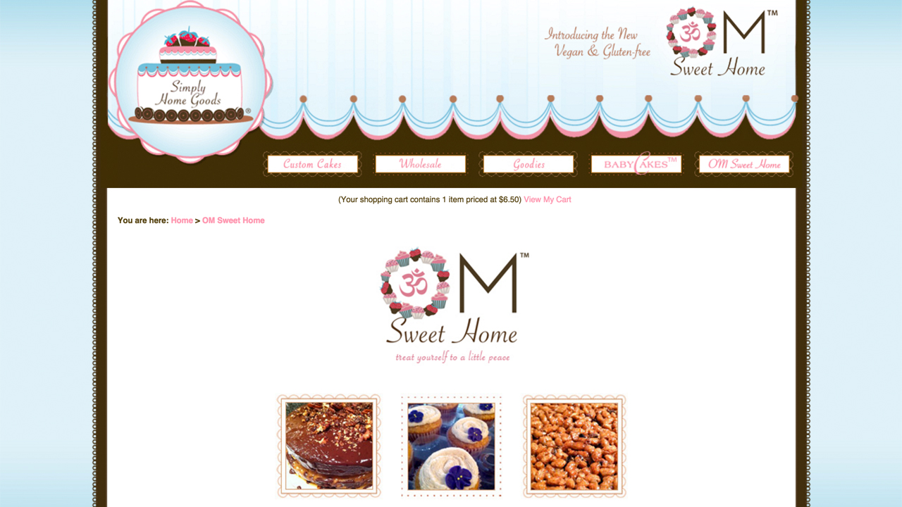 Om Sweet Home  (Hoboken, Hudson County)  Vegan, gluten-free, allergen-free ice cream, parfaits, pudding, donuts, scones, cookies. Vegan butter. Also custom cakes & wedding cakes.  Pickup or Delivery options. Pick-up location is 700 1st Street in Hoboken. Delivers to surrounding cities.