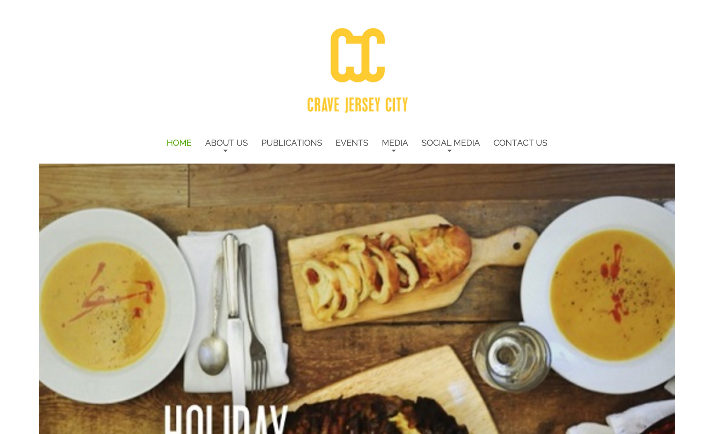 "Crave JC  (Jersey City, Hudson County)  ""We are a food publication based out of Jersey City, looking to put the focus of social media on smaller, local businesses. We are excited to provide Jersey City with a new and unique insight into food and spirits. Our goal is to recognize and promote the hidden gems of our lovely city."""