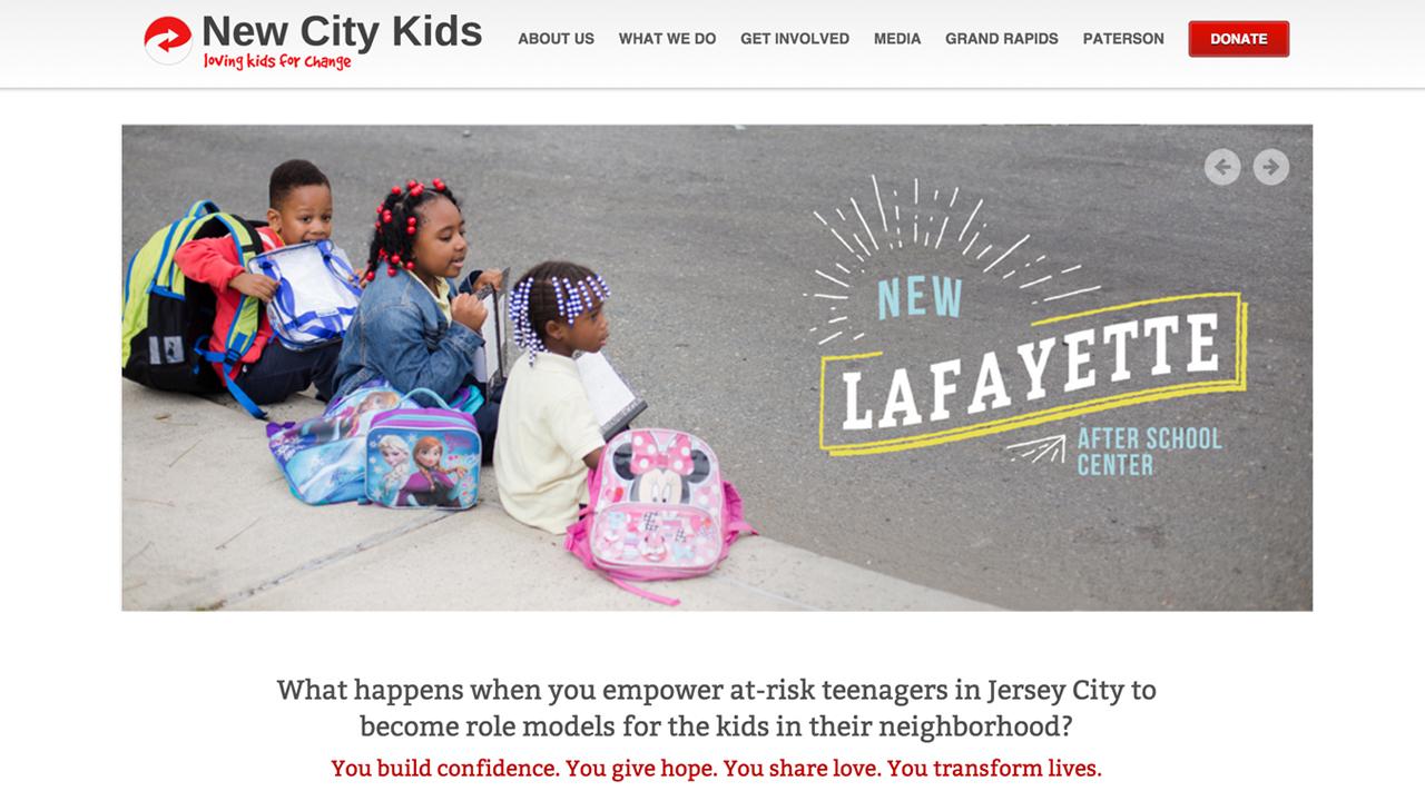 New City Kids: Jersey City (Jersey City |Hudson County) Programs: After School Center | Teen Life Internship | Summer Camp | City Sail