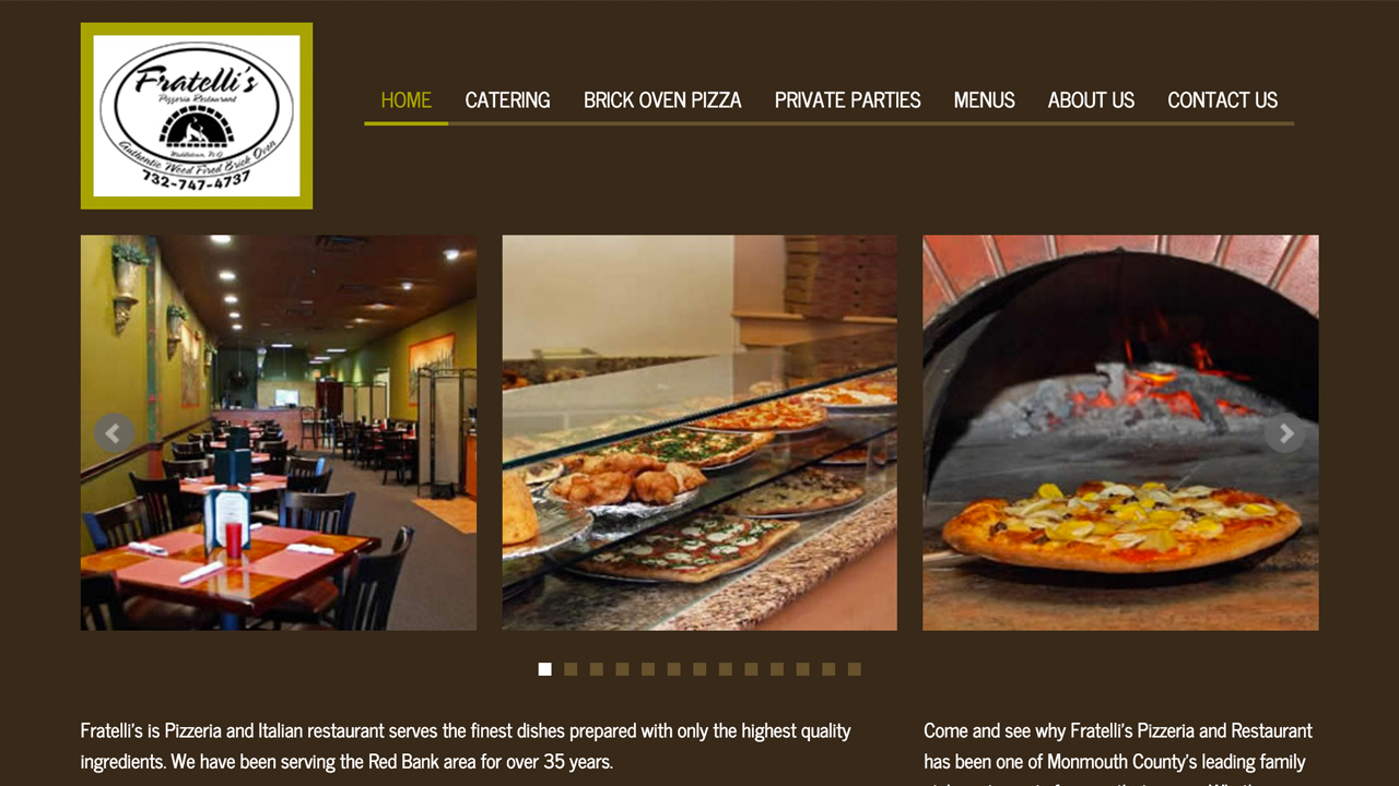 Fratelli's Restaurant & Pizzeria  (Red Bank, Monmouth County)