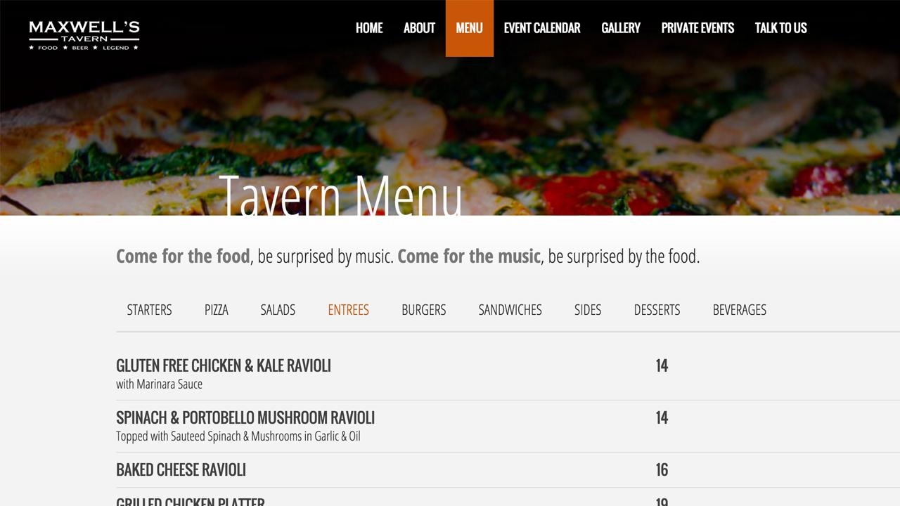 Maxwell's Tavern  (Hoboken, Hudson County)