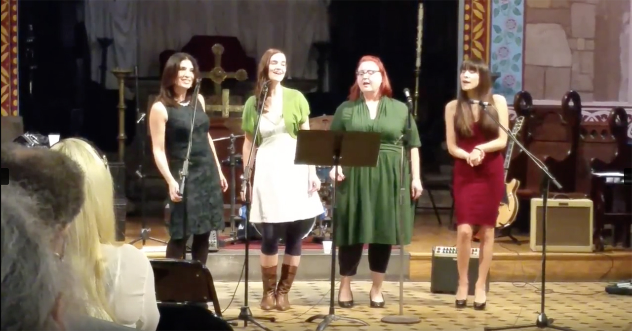 Acapella quartet  Cabaret Sauvignon .