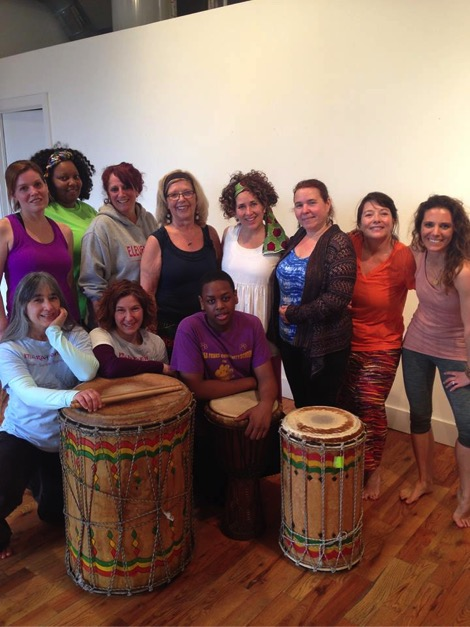 Marafanyi Drum Dance & Song Workshop at the Firehouse Gallery.