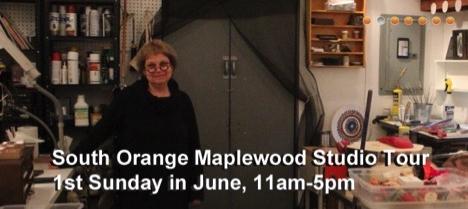 Image:  Susan Napack  - South Orange Maplewood Artists Studio Tour Artist