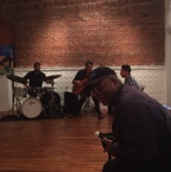 Gregory Burrus out enjoying Live Music